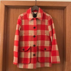 Jcrew Buffalo Plaid Coat